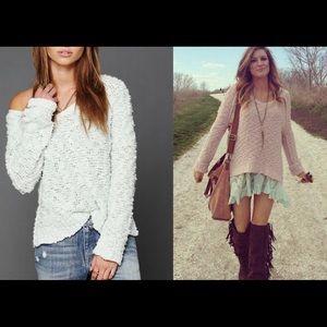 Free People Songbird Sweater Sz Medium